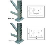 JAKEN PALLET RACK UPRIGHTS
